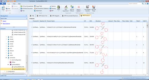 E-Notebook 可配置的用戶界面