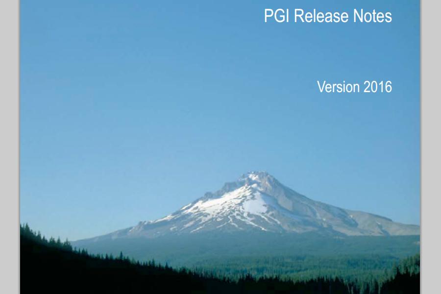 pgi_release_2016