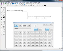 Create novel, complex biopolymers with the new HELM editor.